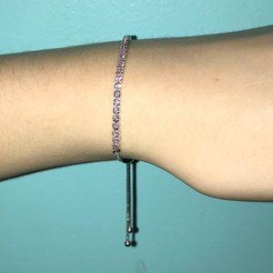 2acf4b723c877 Pandora Pink Sparkling Strand Bracelet, Pink